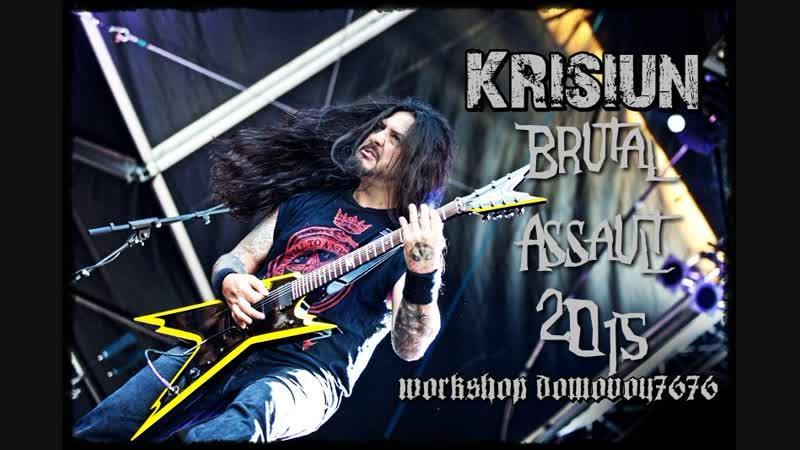 Krisiun Brutal Assault Live 2015