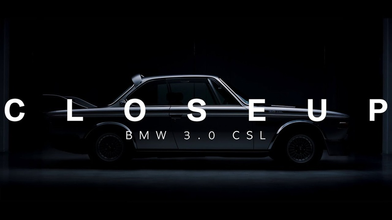 CLOSEUP BMW 3.0 CSL Batmobile (enable subtitles and sound)
