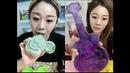 RENKLİ BUZ YEMEK❄ ASMR VİDEO Rahatlatıcı video ice eating satisfying