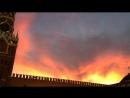 Закат на Красной площади