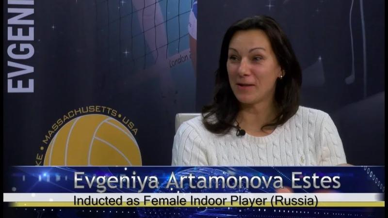 EVGENIYA ARTAMONOVA ESTES RUSSIA FEMALE INDOOR PLAYER