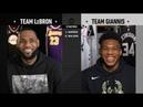 Team LeBron & Team Giannis Full Draft   2019 NBA All-Star