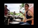 Сильвер - Спи моя осень drum cam live