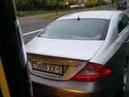 Mercedes с «красивыми» номерами «проучил» автобус