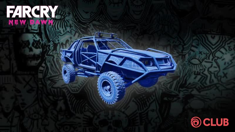 Need a nice ride and a deadly but cutie weapon - Get the Blueprint Buggy the Optimism Shovel for Far Cry New Dawn. - - Already u