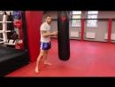 Боевые Ботаники Это другое Работа ногами на мешке с Андреем Басыниным самостоятельная тренировка ударов ногами тайский бокс