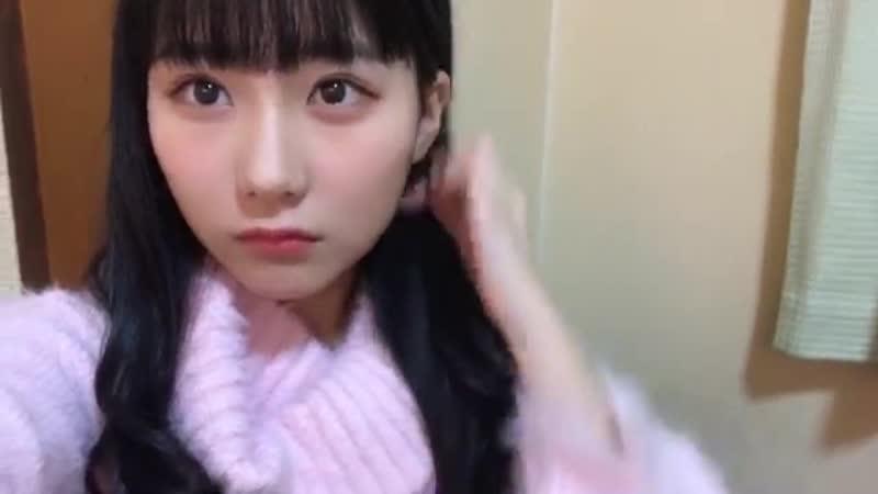 181228 Showroom - HKT48 Team H Tanaka Miku 1116