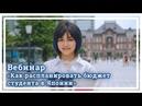Как распланировать бюджет студента в Японии