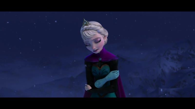 Холодное сердце / Frozen, мультфильм, 2013/ Анна Бутурлина - Отпусти и забудь / Музыкальный фрагмент.