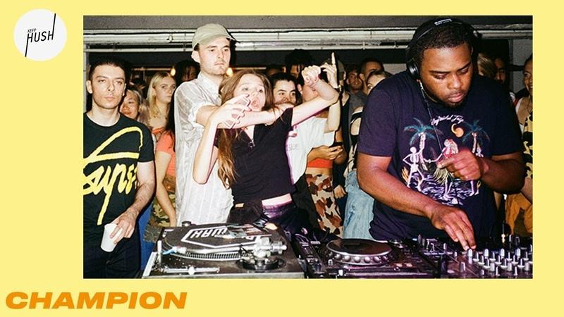 Champion DJ set Keep Hush live: Royal-T takeover