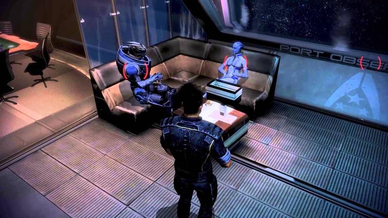 Mass Effect 3 Гаррус и Лиара