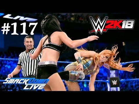 WWE Smackdown Live || WWE 2K18 || BECKY LYNCH VS BILLIE KAY || WWE SMACKDOWN LIVE