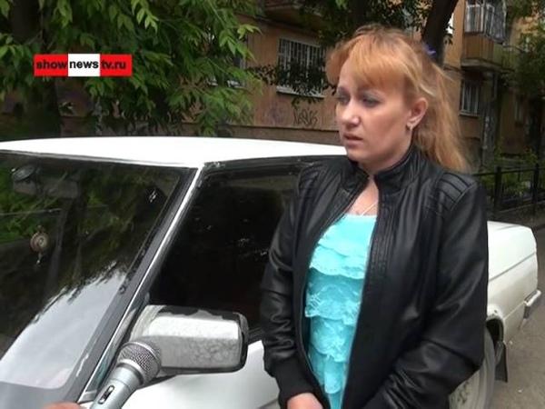 Автоблондинка люто зарубилась с богачом из за разбитого зеркала