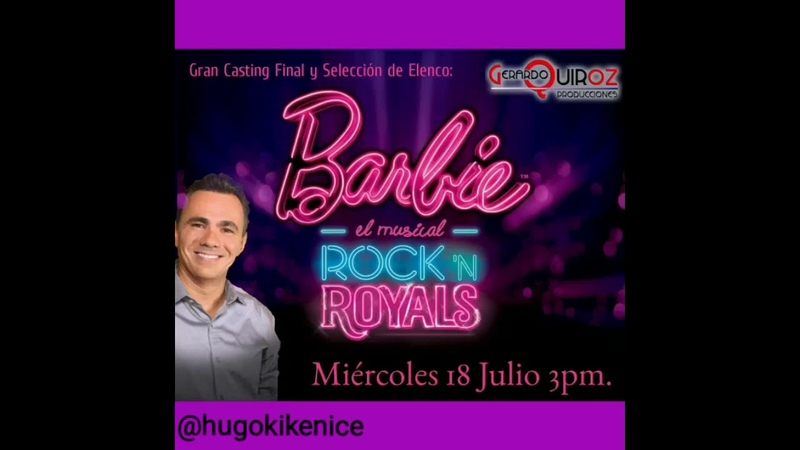 Entrevista con Gerardo Quiroz, Casting Barbie, el Musical