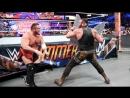 WWE Mania SummerSlam 2017 Brock Lesnar vs Roman Reigns vs Samoa Joe vs Braun Strowman Fatal 4 Way Universal Championship Match
