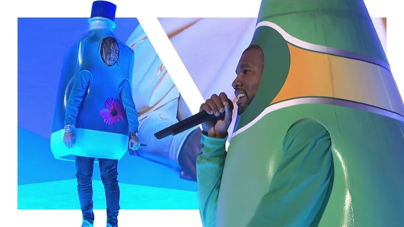 Kanye West and Lil Pumps Amazing Live Performance on SNL (Reupload)