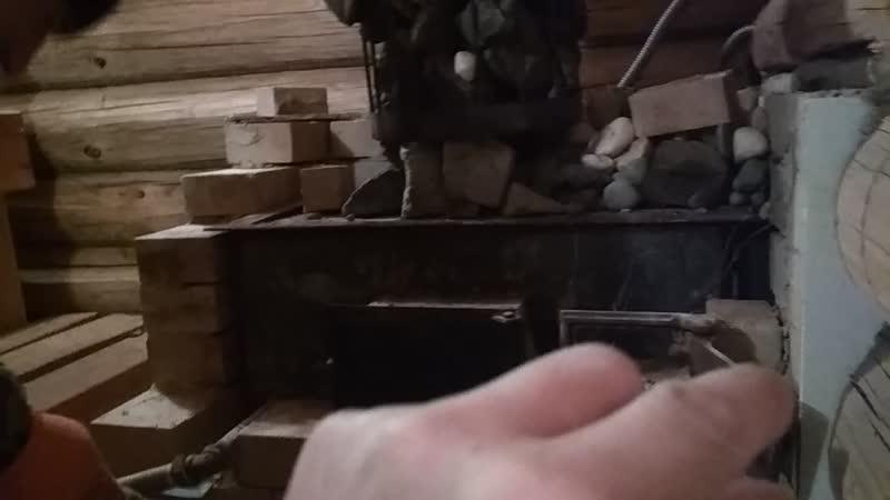 РАЗВАЛИЛАСЬ Печь в Бане Кладка Печи ТРЕСНУЛА Что Делать