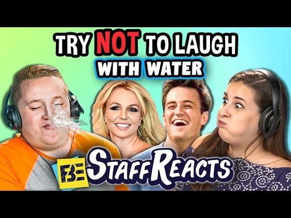 Try To Watch This Without Laughing or Grinning WITH WATER 14 (ft. FBE Staff)