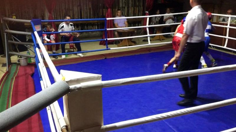 Турнир по боксу г.Кувшиново -полуфинал