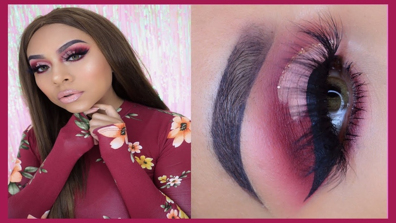 LOOK SAN VALENTIN CUT CREASE CORAZON