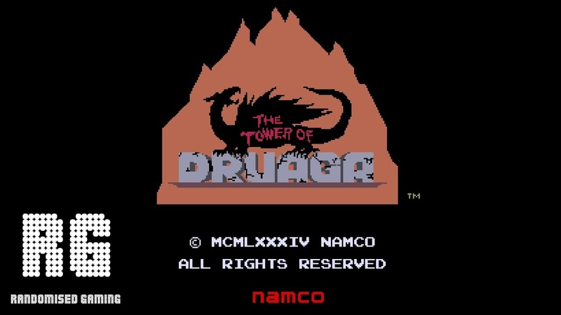 The Tower of Druaga - Arcade Version Gameplay