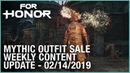For Honor: Mythic Outfit Sale