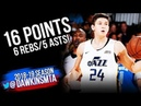 Grayson Allen Full Highlights 2018.07.07 Jazz vs Blazers - 16 Pts, 6 Rebs, 5 Asts! FreeDawkins