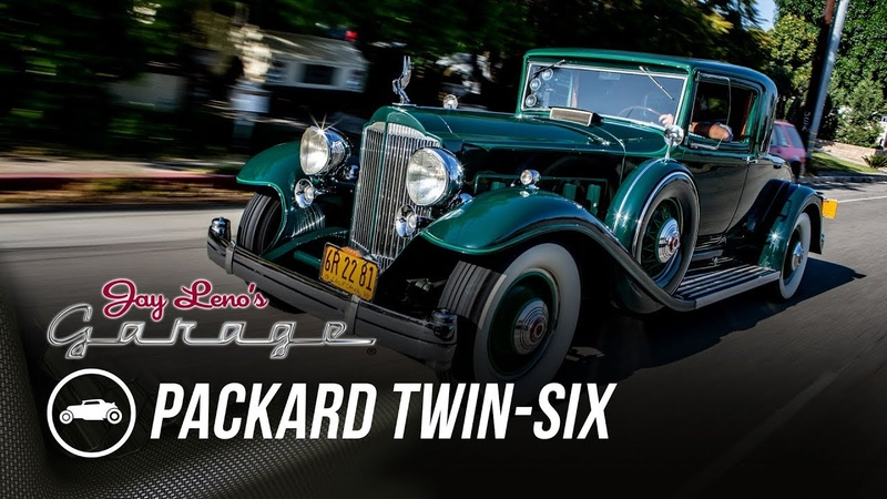 1932 Packard Twin-Six A Tribute to Phil Hill - Jay Lenos Garage