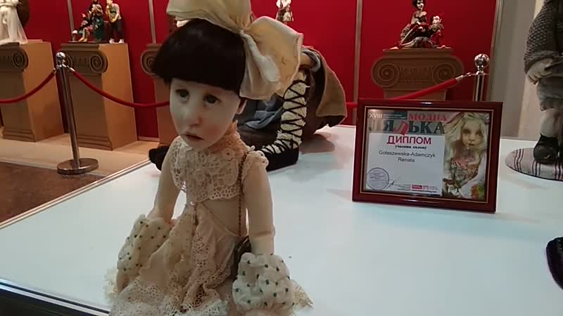Видео обзор выставки авторских кукол в Киеве. Часть 2