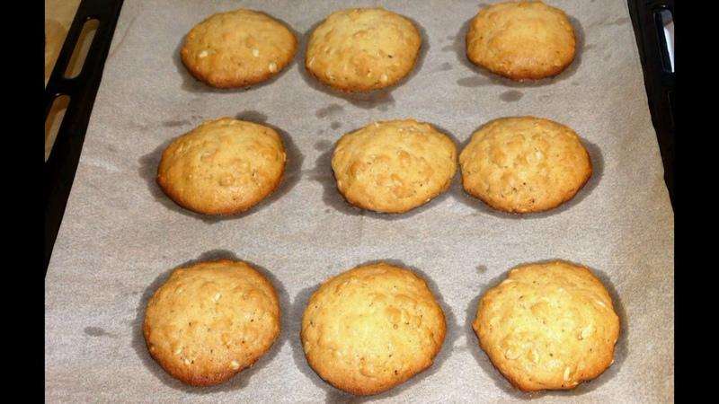Печенье Овсяное С Мёдом Овсяное Печенье долгого хранения Oatmeal cookies