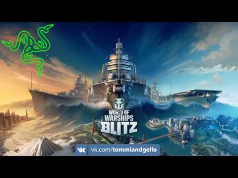World of Warships Blitz - Корабельный футбол!(Сорян за звук)