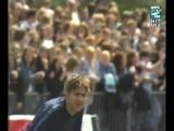 Damon Albarn, Liam Gallagher, Robbie Williams, Jarvis Cocker, etc - Soccer Six 1996
