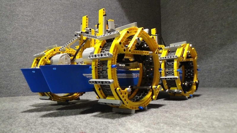 LEGO Awesome Ship Carrier Created by üfchen No 10 . 7 Chain Vehicle