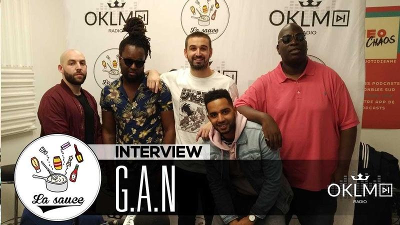 G.A.N (Yin Yang, changement de nom, le renouveau du rap belge...) - LaSauce sur OKLM Radio 140918 {OKLM TV}