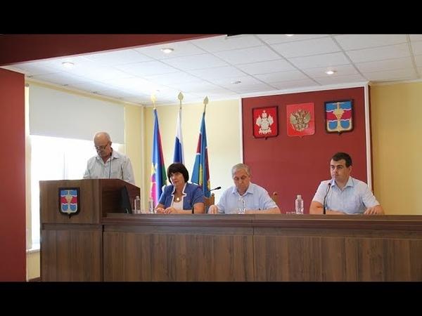 Очередная L сессия Совета муниципального образования Темрюкский район