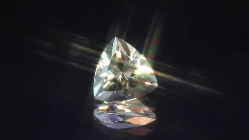 6.25 Carat Trilliant Cut Zultanite® from the GemGuys®