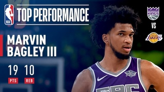 Marvin Bagley III Puts Up 19 vs The Lakers | 2018 NBA Preseason #NBANews #NBA #Kings