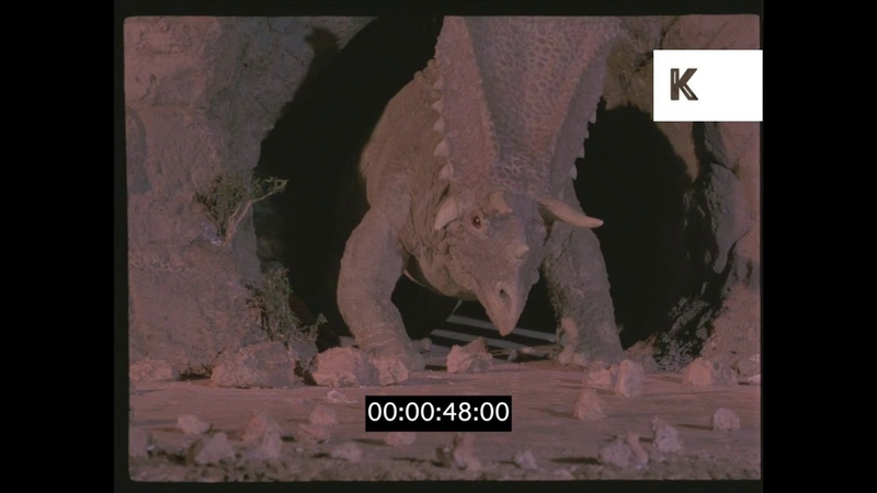 1960s Dinosaurs, Prehistoric, Vintage Special Effects, 35mm