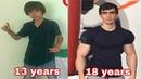 Бодибилдинг Трансформация 13-18 лет bodybuilding transformation 13 - 18 years