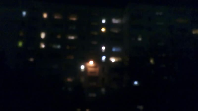 Где - то на районе ночью