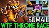 SumaiL Clinkz WTF Throne Race Insane Game 28 Kills 7.17 Dota 2