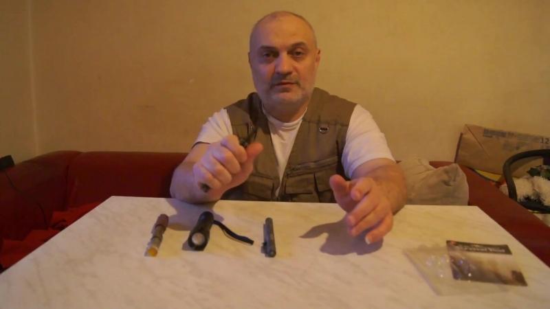 Складной нож.Сиганл охотника.Куботан мультитул