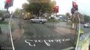 Slippery Pedestrian Crossing Fail || ViralHog