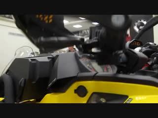 квадроцикл CAN AM OUTLANDER 1000XMR видеообзор