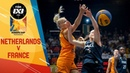 Netherlands v France Women's Full Game Final FIBA 3x3 Europe Cup 2018