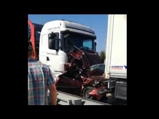 Страшная авария в Татарстане. Кадры с места происшествия