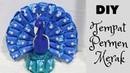 Cara membuat tempat permen dari flanel | Tutorial membuat tempat permen merak | candy merak |