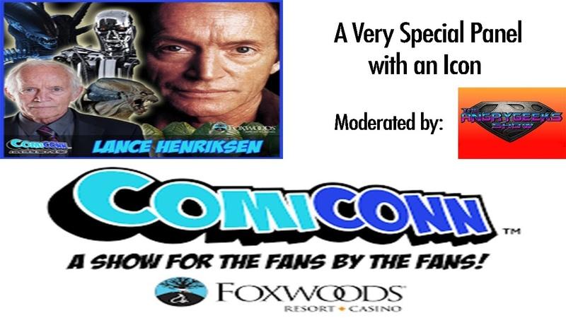 Lance Henriksen Panel at ComiCONN 2018 July 1st 2018 at Foxwoods Resort Casino