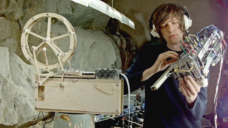 Music Box Modulin - 2 new music instruments (All Was Well by Wintergatan)