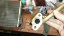 замена радиатора печки и перенос краника под капот ваз ( классика)